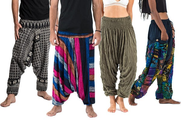 Low Cut Harem Pants
