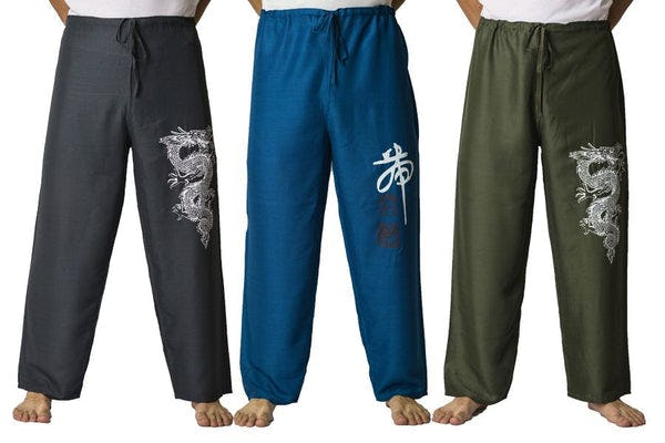 Men Drawstring Yoga Pants