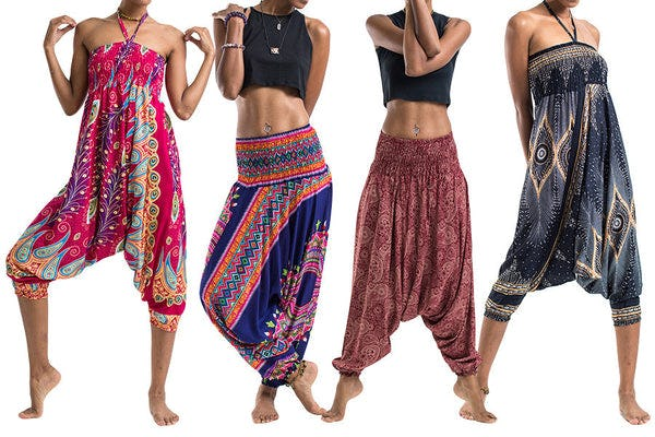 Convertible Jumpsuit Harem Pants