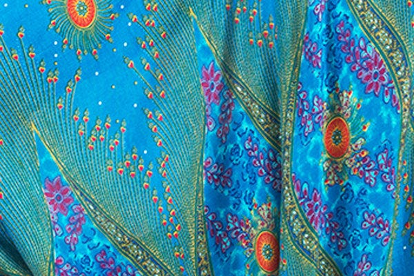 Peacock Eye Print Harem Pants