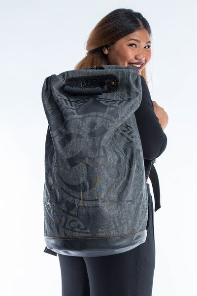 Infinitee Ohm Denim Gear Backpack Black