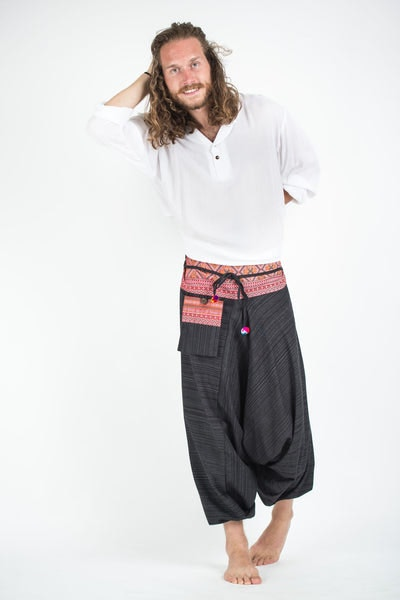 Ideas How to Wear Harem Pants – harem pants are baggy long pants that are really baggy all the way to the bottom but they are tight right at the ankles. They are very similar to shalwar (part of Indian traditional dress).