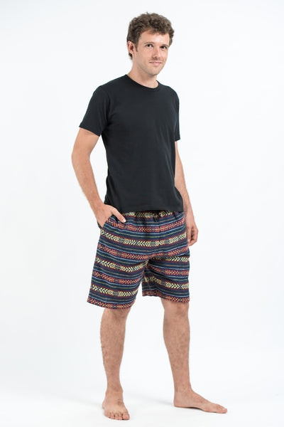 Drawstring Hill Tribe Men's Shorts In Navy
