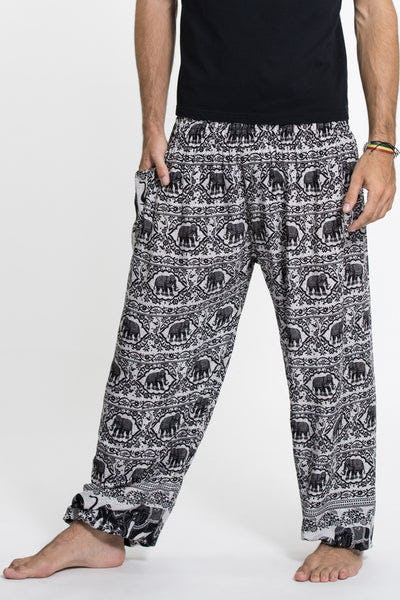 Elephant Deva Tall Harem Pants in White