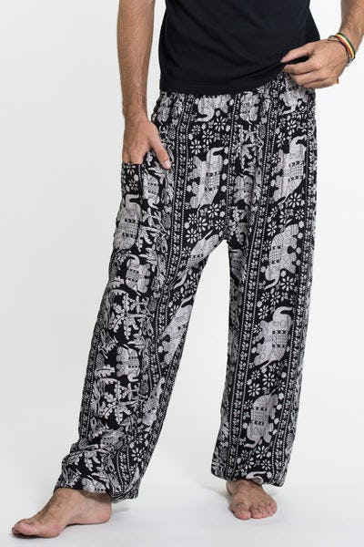 Elephant Orchard Tall Harem Pants in Black