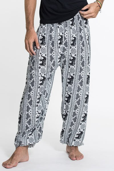 Wild Elephant Tall Harem Pants in White