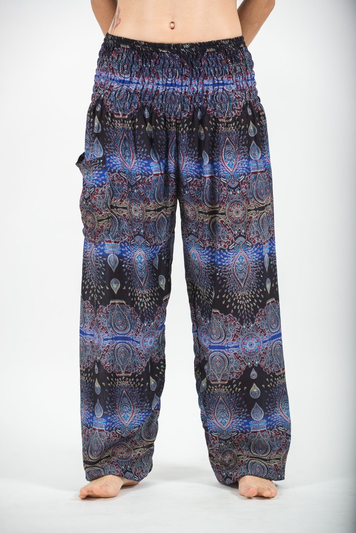 Brilliant Share Harem Pants For Women Paisley Women S Harem Pants In Turquoise