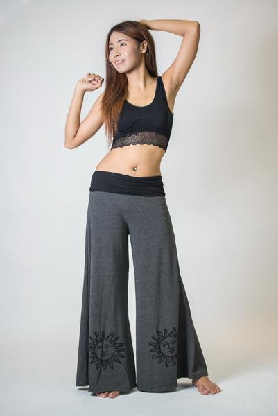 Wide Leg Palazzo Pants for Women – Harem Pants
