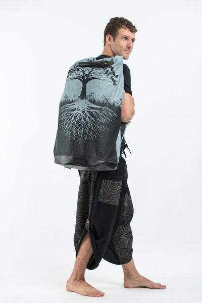 Tree of Life Denim Gear Backpack