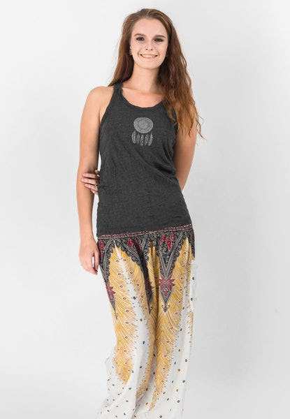 Super Soft Sure Design Women's Tank Tops Dream Catcher Black